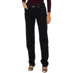 Textiel Dames Skinny jeans Armani jeans Pantalon long Blauw