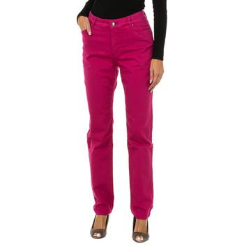 Textiel Dames Skinny jeans Armani jeans Pantalon long Roze