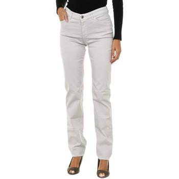 Textiel Dames Skinny jeans Armani jeans Pantalon long Grijs