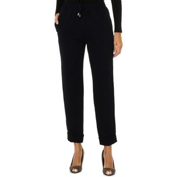 Textiel Dames Losse broeken / Harembroeken Armani jeans Pantalon long Blauw