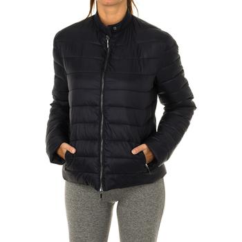 Textiel Dames Dons gevoerde jassen Armani jeans Veste matelassée Blauw