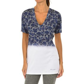 Textiel Dames T-shirts korte mouwen Armani jeans T-shirt à manches courtes Multicolour