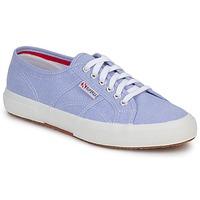Schoenen Lage sneakers Superga 2750 COTUSHIRT Blauw / CLAIR