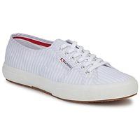 Schoenen Lage sneakers Superga 2750 COTUSHIRT Wit / Blauw
