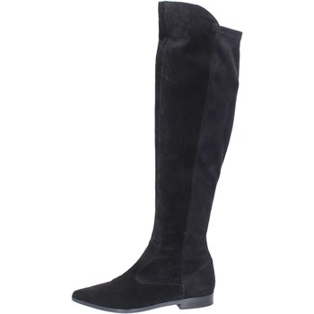 Schoenen Dames Lieslaarzen Carmens Padova BJ811 Noir