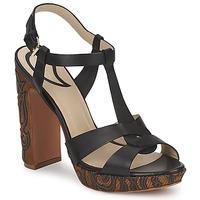 Schoenen Dames Sandalen / Open schoenen Etro NU-PIEDS 3763 Zwart