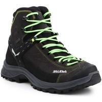 Schoenen Heren Hoge sneakers Salewa MS Hike Trainer Mid Gtx Noir, Gris, Marron