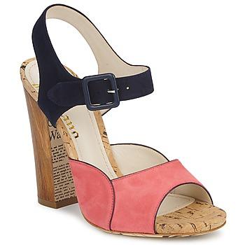 Schoenen Dames Sandalen / Open schoenen John Galliano AN3571 Roze / Marine