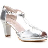 Schoenen Dames Sandalen / Open schoenen Annora Zapatos Sandalias de vestir de mujer by Annora Argenté