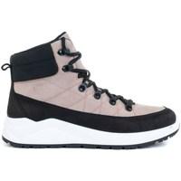 Schoenen Dames Hoge sneakers 4F OBDH252 Noir, Rose