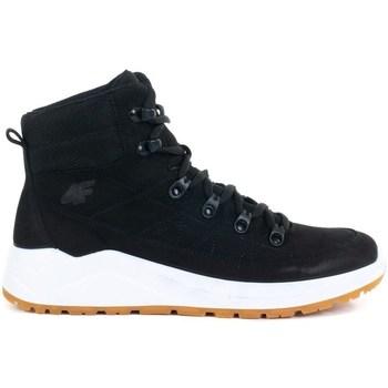Schoenen Dames Hoge sneakers 4F OBDH252 Blanc, Noir