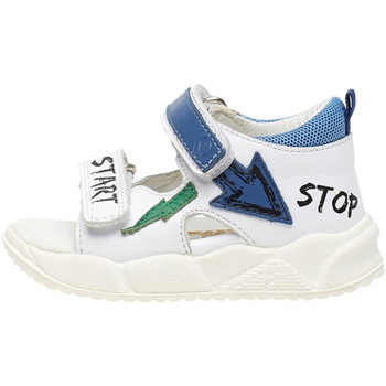Schoenen Jongens Sandalen / Open schoenen Falcotto 1500865 01 Wit