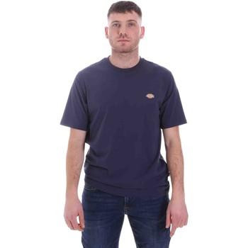 Textiel Heren T-shirts korte mouwen Dickies DK0A4XDBNV01 Blauw