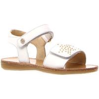 Schoenen Meisjes Sandalen / Open schoenen Naturino 502714 01 Wit