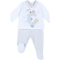 Textiel Kinderen Anzüge und Krawatte Chicco 09076647000000 Blauw