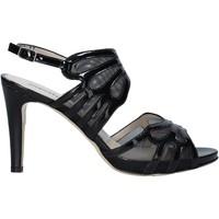 Schoenen Dames Sandalen / Open schoenen Melluso HS845 Zwart
