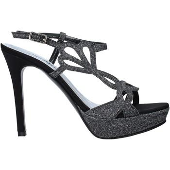 Schoenen Dames Sandalen / Open schoenen Melluso HJ469N Zwart