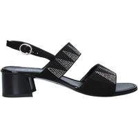 Schoenen Dames Sandalen / Open schoenen Melluso 03129X Zwart