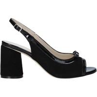 Schoenen Dames Sandalen / Open schoenen Melluso HS548 Zwart