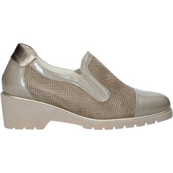 Schoenen Dames Instappers Melluso R30721 Beige
