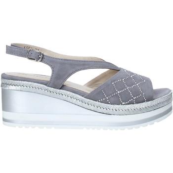 Schoenen Dames Sandalen / Open schoenen Melluso HR70734 Grijs