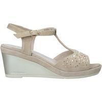 Schoenen Dames Sandalen / Open schoenen Melluso HR70511 Beige