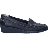Schoenen Dames Mocassins Melluso 0250X Blauw