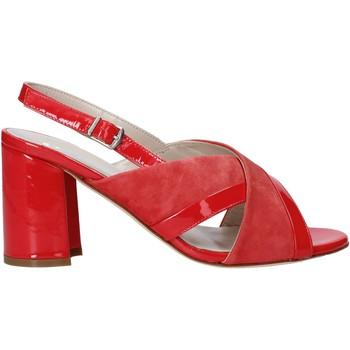 Schoenen Dames Sandalen / Open schoenen Melluso HS530 Rood