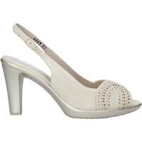 Schoenen Dames Sandalen / Open schoenen Melluso HR50117 Beige