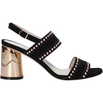 Schoenen Dames Sandalen / Open schoenen Melluso HS553 Zwart