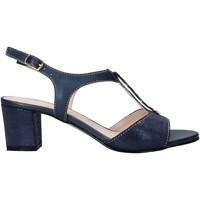 Schoenen Dames Sandalen / Open schoenen Melluso HK95360 Blauw