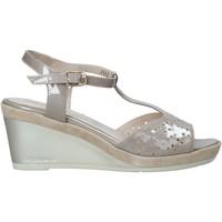 Schoenen Dames Sandalen / Open schoenen Melluso HR70520 Beige