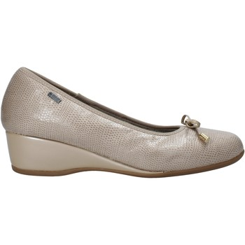 Schoenen Dames Ballerina's Melluso H08123 Beige