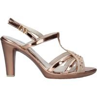 Schoenen Dames Sandalen / Open schoenen Melluso HR50134 Roze