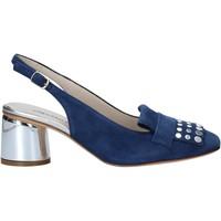 Schoenen Dames Sandalen / Open schoenen Melluso HM108 Blauw