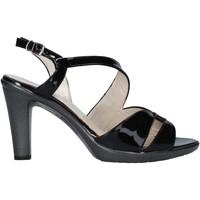 Schoenen Dames Sandalen / Open schoenen Melluso HR50138 Zwart