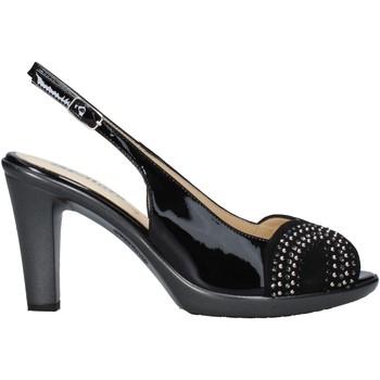 Schoenen Dames Sandalen / Open schoenen Melluso HR50117 Zwart