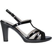 Schoenen Dames Sandalen / Open schoenen Melluso HR50134 Zwart