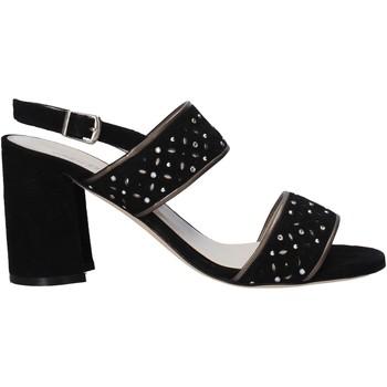 Schoenen Dames Sandalen / Open schoenen Melluso HS533 Zwart
