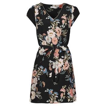Textiel Dames Korte jurken Betty London OWAKA Zwart / Multicolour