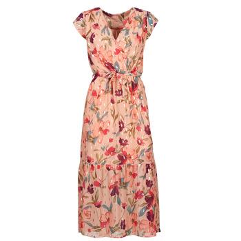 Textiel Dames Lange jurken Moony Mood  Roze / Multicolour