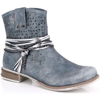 Schoenen Dames Enkellaarzen Kimberfeel MARGOT Bleu