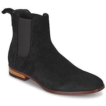 Schoenen Heren Laarzen HUGO Cult_Cheb_sdwx Zwart