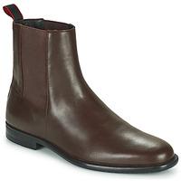 Schoenen Heren Laarzen HUGO KYRON CHEB Brown