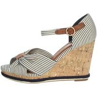 Schoenen Dames Sandalen / Open schoenen Wrangler WL11652A White/Blue