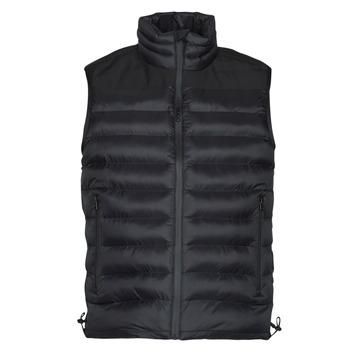 Textiel Heren Dons gevoerde jassen HUGO BALTINO Zwart