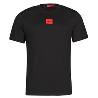 Textiel Heren T-shirts korte mouwen HUGO DIRAGOLINO Zwart / Rood