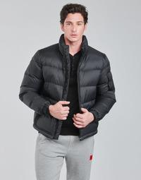 Textiel Heren Dons gevoerde jassen HUGO BIRON Zwart