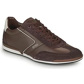 Schoenen Heren Lage sneakers BOSS SATURN LOWP ITAL Brown