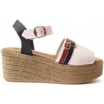 Schoenen Dames Sandalen / Open schoenen Purapiel 70213 WHITE